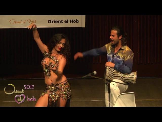 Dariya Mitskevich and Artem Uzunov in ORIENT EL HOB festival Bulgaria 2017
