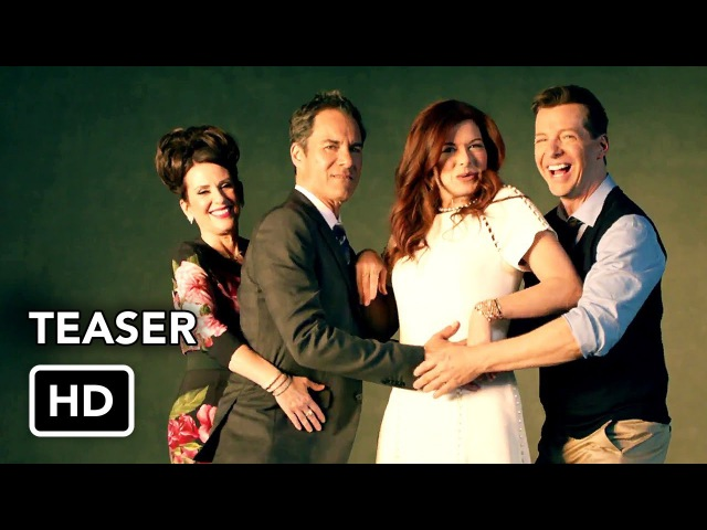 Will and Grace (NBC) Let's Get This Party Started Teaser Promo HD