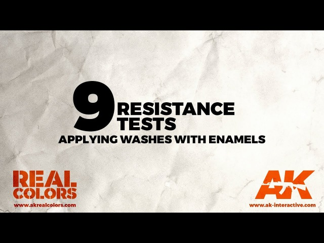 9.RESISTANCE TESTS: Applying washes with enamels - ||ENG||