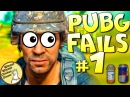 PUBG FAILS! Funny and WTF Moments 1 [Playerunknown's Battlegrounds Plays]