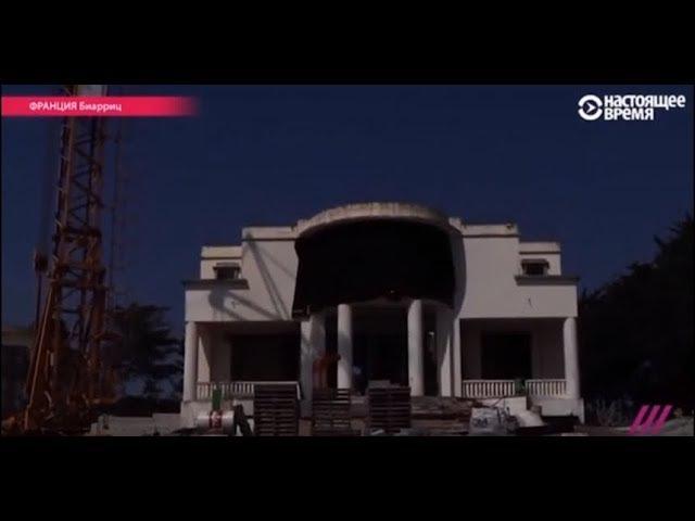 Недостроенный дом бывшей жены Путина
