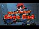 When Dodger goes Dad! (Dodger destroys fools in Overwatch)