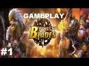 Dynasty Blades 1 Прохождение Gameplay iOS/Android Классная ММОRPG для мобильных устройств