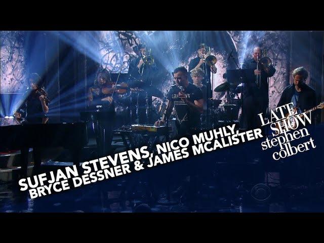 Sufjan Stevens, Nico Muhly, Bryce Dessner James McAlister Perform 'Mercury'