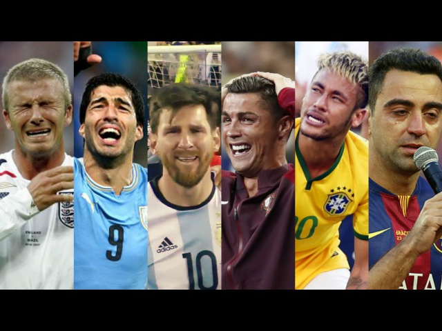 Football Stars Crying ● Try not to cry