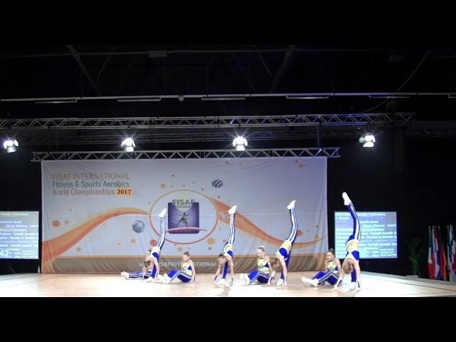 FISAF Int World Fitness HIP HOP UNITE Championships 2017. PR cadet Grande Aerobic: Secret