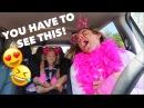 4 YEAR OLD GIRL AND DADDY DO CUTEST CARPOOL KARAOKE EVER