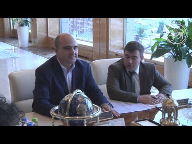 Встреча Президента республики Татарстан с деканом Высшей школы урбанистики