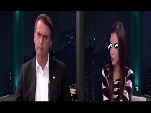 REPÓRTER PENSAVA QUE BOLSONARO ERA LEIGO EM ECONOMIA. QUEBRA A CARA E TOMA AULA DE GRAÇA