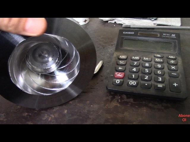 CNC Tornada Radyuslü Yüzeye Diş Çekme (İmkansız Diyenler İzlesin)