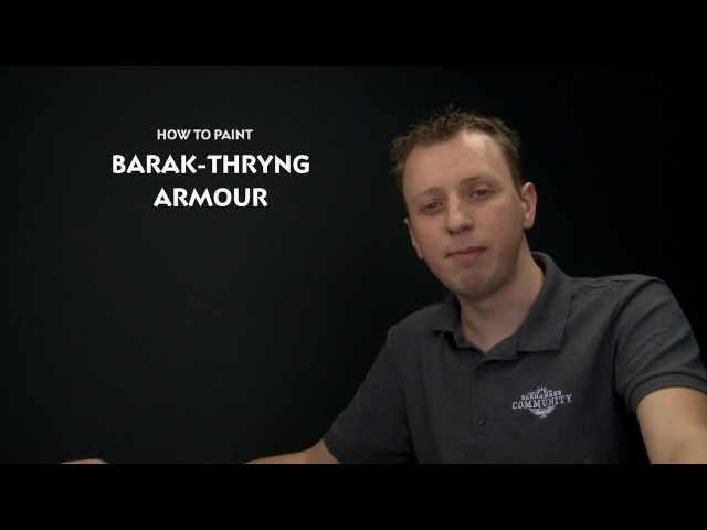 WHTV Tip of the Day - Barak-Thryng Armour.