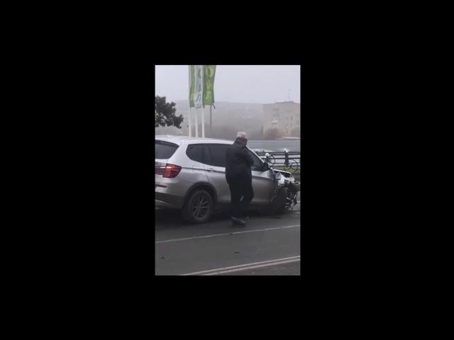Пьяный судья устроил аварию на оживленной трассе