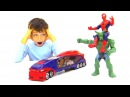 ЧеловекПаук vs Зелёный Гоблин Гонки на крутых машинках🏁 ИгрыДляМальчиков