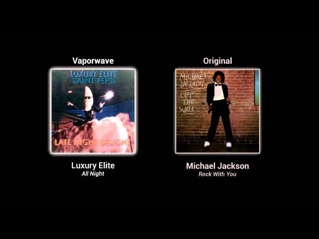 Vaporwave songs and their original samples [part 1]
