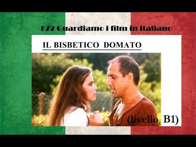 Урок 72, guardiamo i film in italiano. ''Il bisbetico domato
