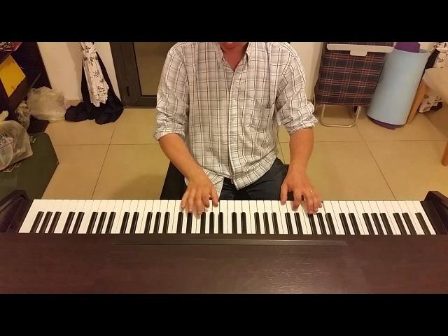 Мгновения (Не думай о секундах свысока) Пианино Кобзон 17 мгновений весны пианино кавер