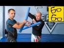 Тренировка с нудлами в тайском боксе — альтернатива работе на лапах от Владислава Коротких