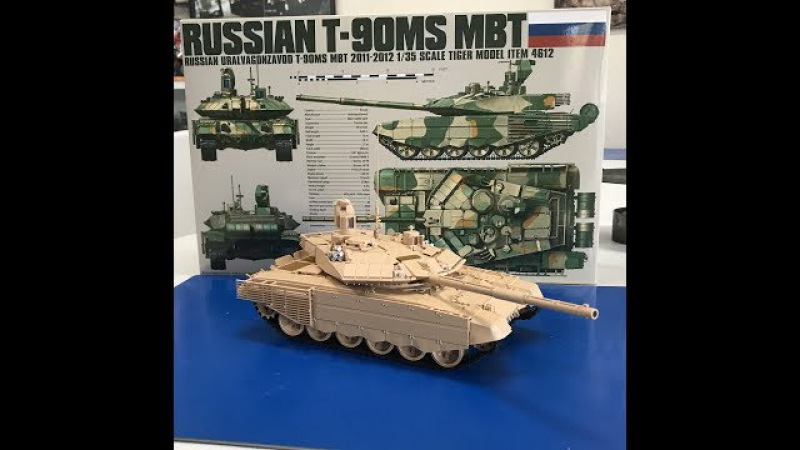 Build Review Tiger Models T90 MS MBT Before the Paint build review