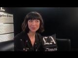 Катрина Балф перед интервью LA times 2018