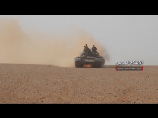 Операции Сирийской армии и союзников к востоку от Т2 вблизи иракско-сирийской границы