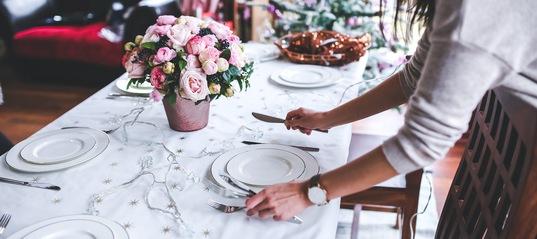 Свадебная сервировка стола в домашних условиях