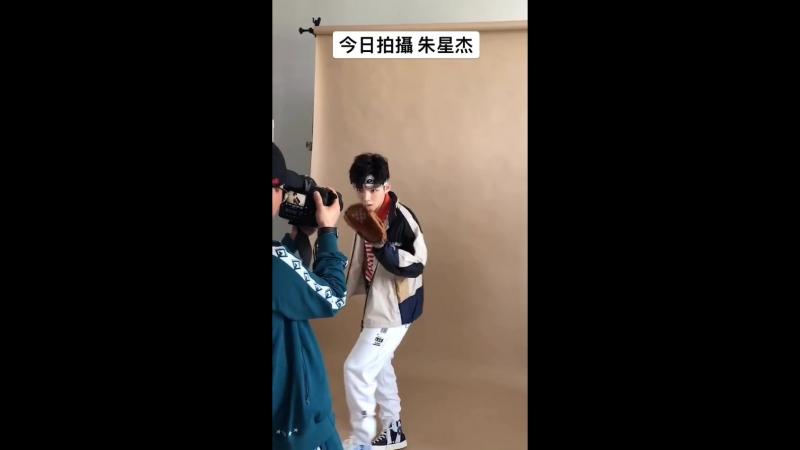 Zhu Xingjie bts фотосессия для Easyidol 180425