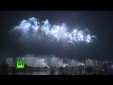 Самые эффектные залпы на Международном фестивале фейерверков в Москве