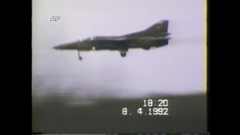 Полёты в 911 м АПИБ аэродром Бранд ГДР