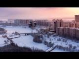 Путешествие по России. Сургут с высоты птичьего полета