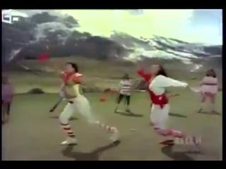 Breakdance. Megastar Chiranjeevi and Vijashanthi 1987