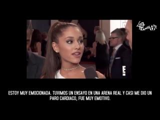 Ariana Grande  Big Sean ¦ Entrevista con Ryan Seacrest en la Red Carpet de The Grammys 2015