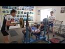 Павел Гуренко жим 100 кг