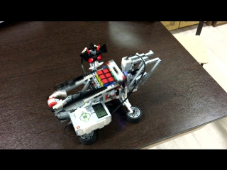 Робот, собирающий Кубик Рубика. 7 фм Ляпин Никита, Панкин Алексей
