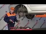 Peugeot 307 (Пежо 307) замена задних тормозных колодок и дисков