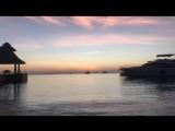 Чарующий закат на Мальдивах