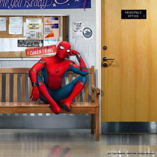 Промо-постеры блокбастера Marvel «Человек-паук: Возвращение домой»