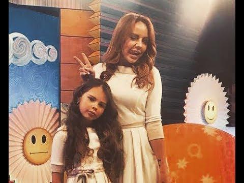 МакSим с дочкой Сашей в программе «С добрым утром, малыши!» («Карусель», эфир 17.04.2018)