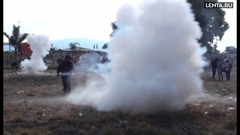 Мексиканский Тор: взрыв, кувалда, ранения