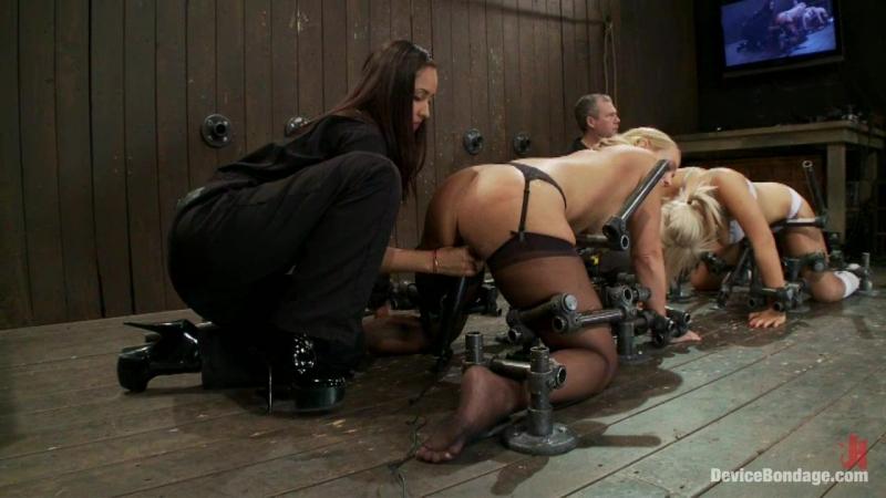 DeviceBondage Isis Mellanie Tara BDSM Fuck Machines