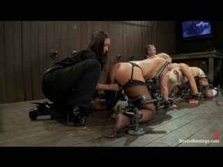 DeviceBondage_Isis_Mellanie_Tara BDSM Fuck Machines