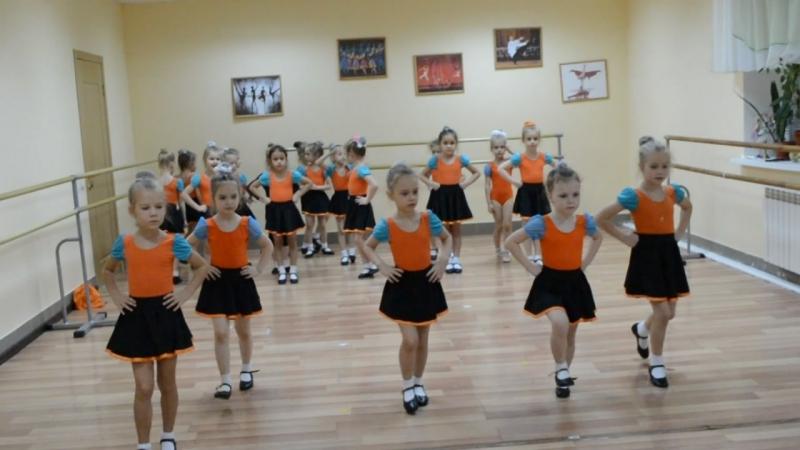 гр Радужка 5 лет урок русского танца