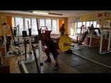 Алексей Никулин - присед 245 кг с паузой