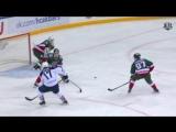 Вольский забивает последний гол «Магнитки» в сезоне 2017/2018