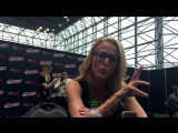 Interview with X-Files Gillian Anderson At New York Comic Con