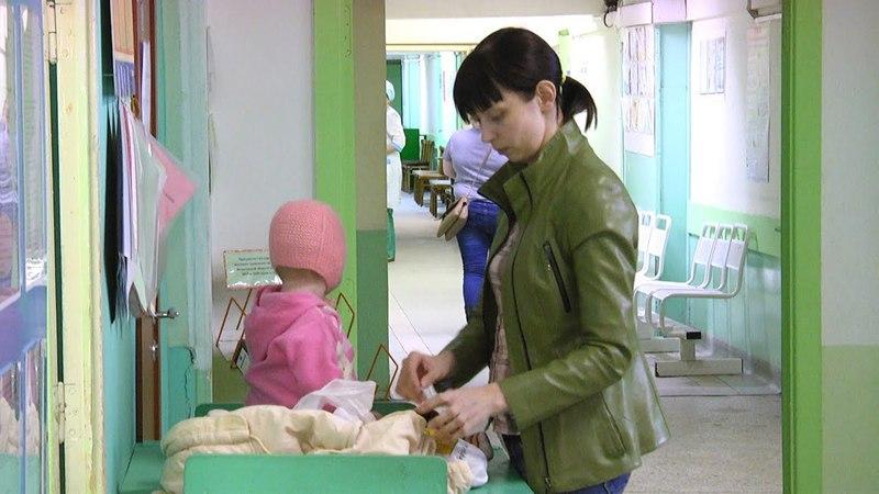 Олег Кувшинников в детской поликлинике №5