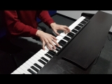 Pirates of the caribian piano cover (Music school InCloud)