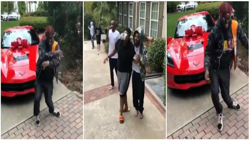Lil Yachty Buys His Homie a Brand New 2018 Corvette For His Birthday