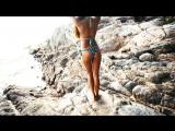 sexy girl on rocks девушка на скалах
