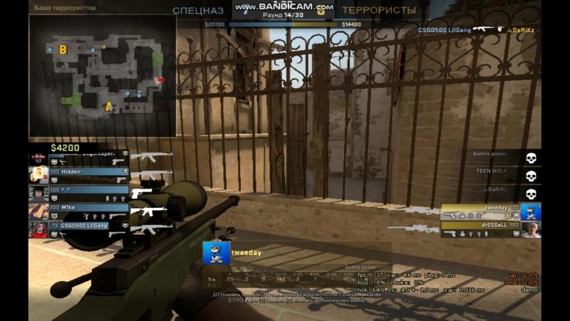 1v5 lucky shot:D