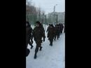 По дороге на городские соревнования Стрелковое многоборье 17.02.2018